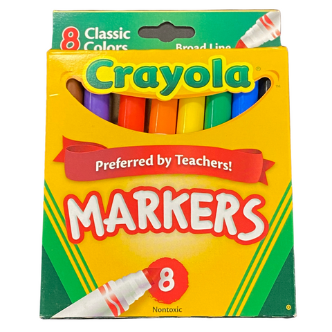 Classic Broad Crayola Marker 8 ct