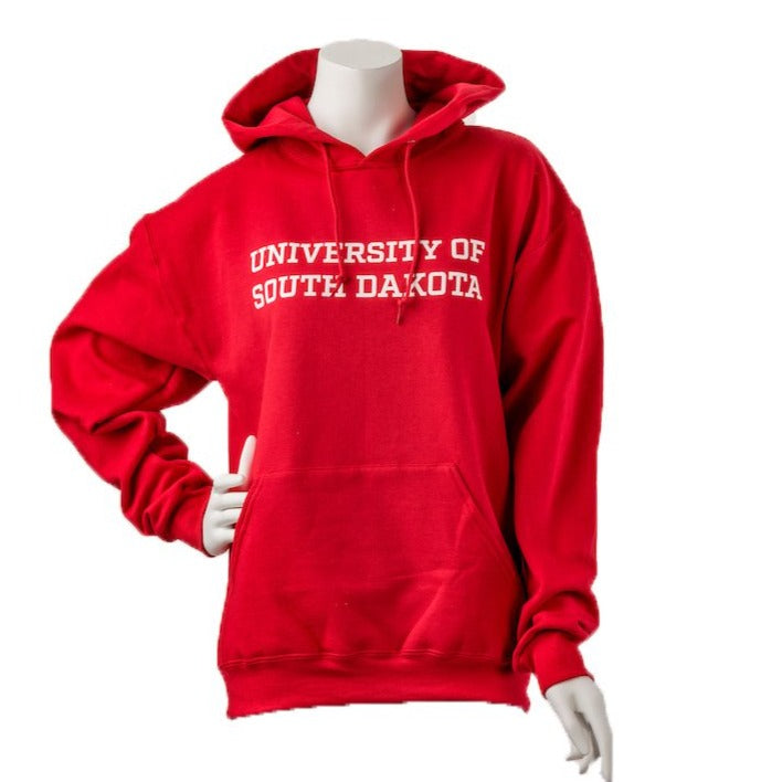Unisex Downtown Screen Printing 50/50 Blend University of South Dakota Hoodie