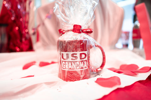 Valentine's USD Grandma Mug with Chocolate Kisses