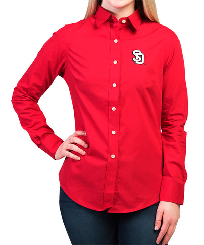 Red Long-Sleeved Dynasty Shirt