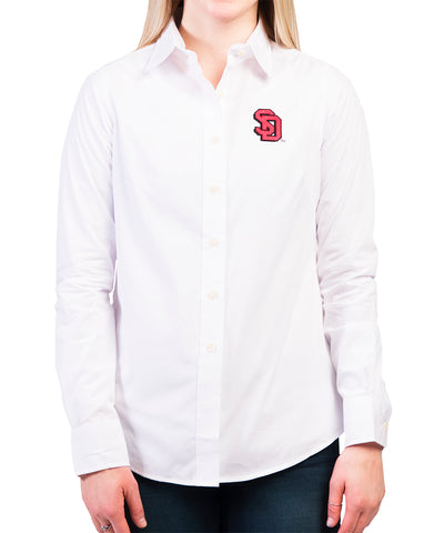 White Long-Sleeved Dynasty Shirt