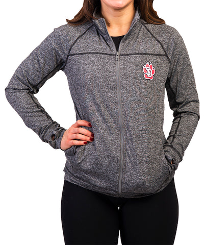 Gray Full-Zip SD Paw Jacket