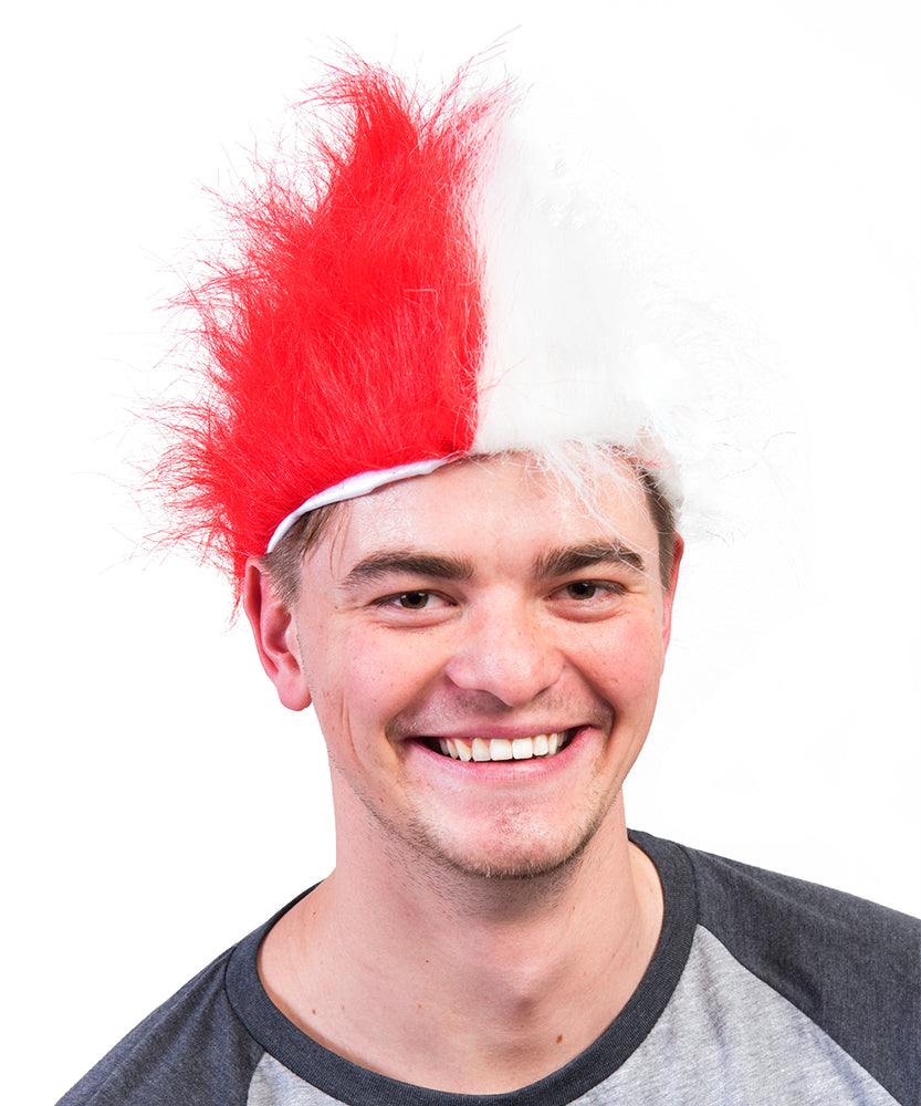 South Dakota Coyotes Red Crazies Wig Headband