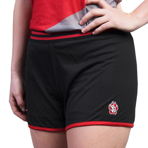 Zoozatz Black SD Paw Mesh Shorts