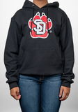 SD Paw Hooded Sweatshirt