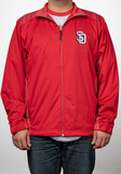 Men's Full Zip Red Jacket