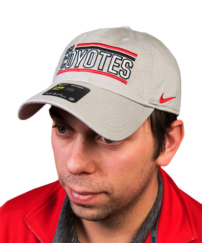 South Dakota Coyotes Nike Pewter Gray USD Coyotes Cap