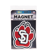 SD Paw Automotive Magnet