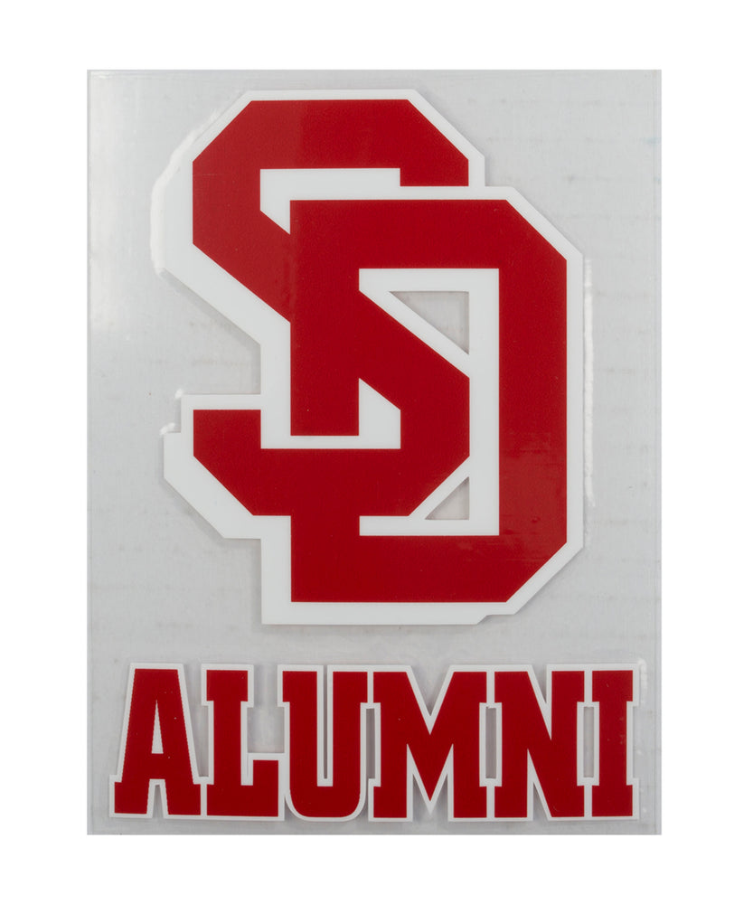 South Dakota Coyotes SD Alumni Decal