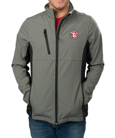 Gray Clique by Cutter & Buck Narvik Softshell Jacket