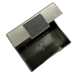 "File Card Box Plastic Black 3"" x 5"""