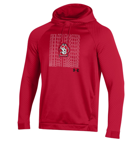 Hood Red Quilted repeat South SD Paw