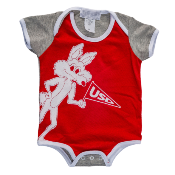 Infant Onesie with Vintage Charlie