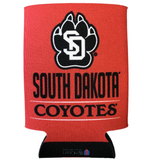Koozie Cross Bar Design and SD Paw