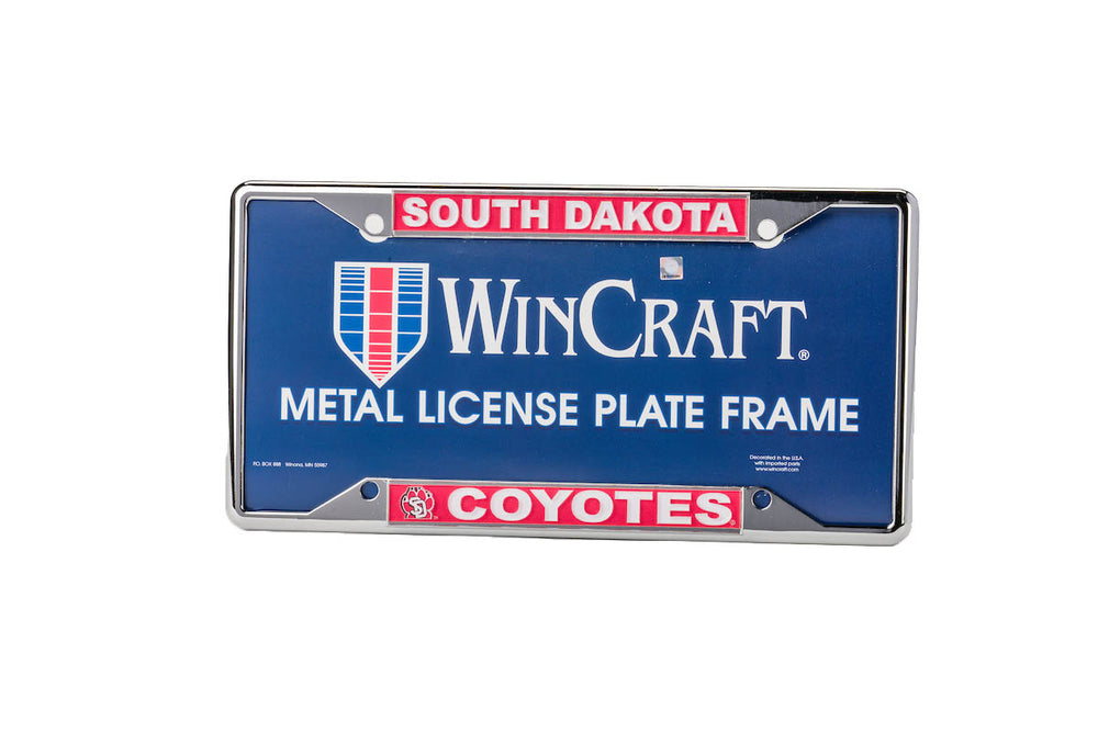 License Frame South Dakota Coyotes