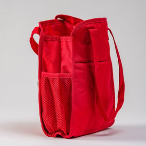 Load image into Gallery viewer, Mini Red Diaper Bag