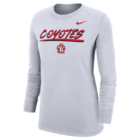 Nike SD Paw Coyotes Long Sleeve Dri-Fit
