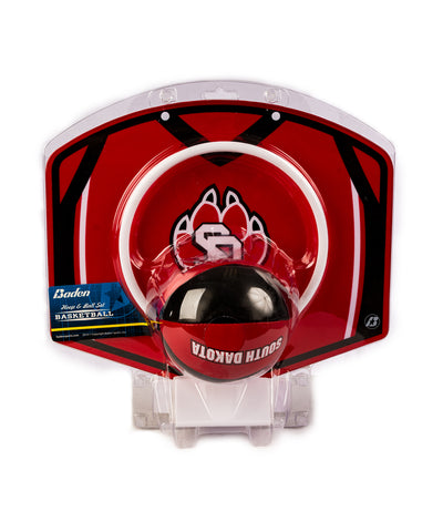 South Dakota Coyotes Basketball Hoop Set