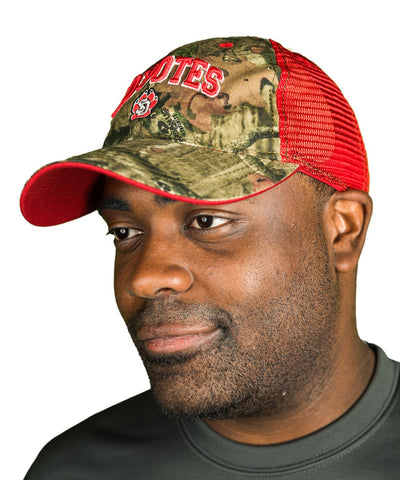 South Dakota Coyotes Mesh Camouflage Trucker Hat