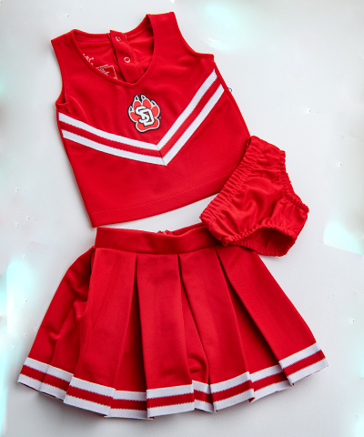 Toddler Red Cheer Set