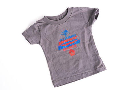 Infant Gray House Divided Tee