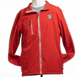 Load image into Gallery viewer, Women's Telemark Red Softshell Jacket