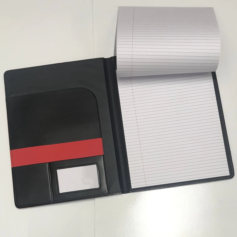 Load image into Gallery viewer, Red & Black SD Paw Padfolio