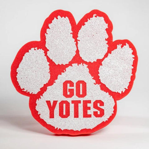 Red Foam Paw Go Yotes