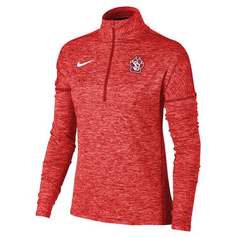 Red Quarter Zip Women's Dry Element Heather