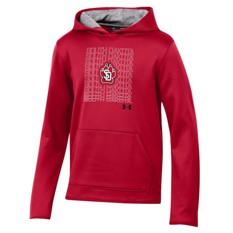 Red Under Armour Hoodie Youth