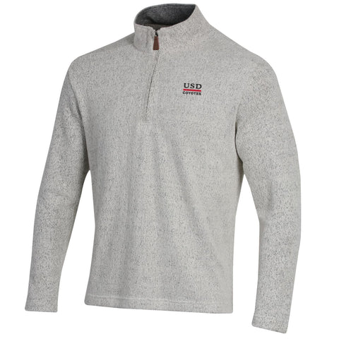 Seaport Salt and Pepper 1/4 Zip Pullover