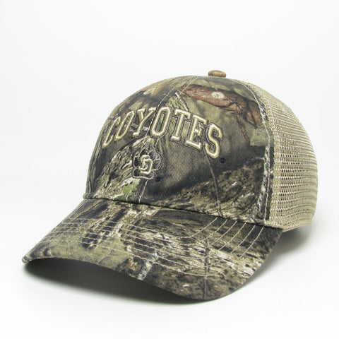 South Dakota Coyotes Camo USD Natural Mesh Hat