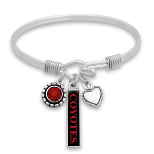 Load image into Gallery viewer, Triple Charm Nameplate Bracelet