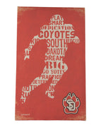 USD Football Player Canvas Retro