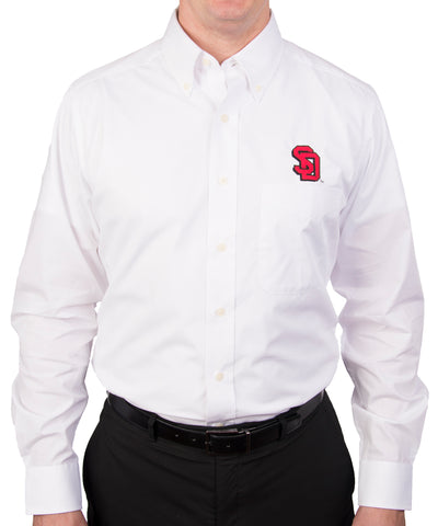White Dynasty Button-Up with Shadowed SD