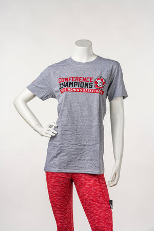 Unisex Gray Tee Summit League Champions