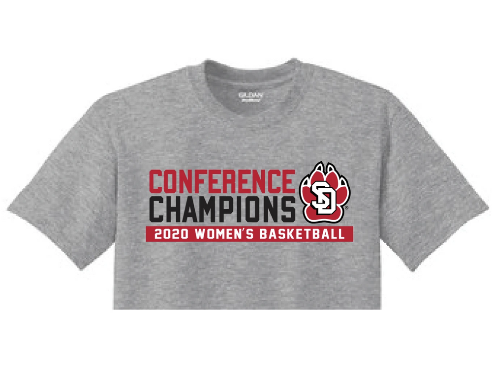 Load image into Gallery viewer, Unisex Gray Tee Summit League Champions