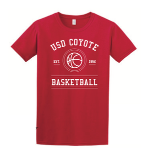 Load image into Gallery viewer, Unisex Tee USD Basketball