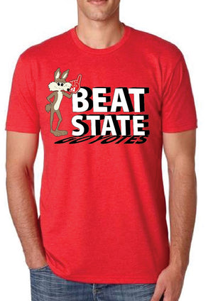Load image into Gallery viewer, Vintage Charlie Beat State Red Tee