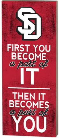 "Wall Decor ""First You Become Part"""