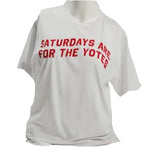 "White ""Saturdays are for the Yotes"" Tee"