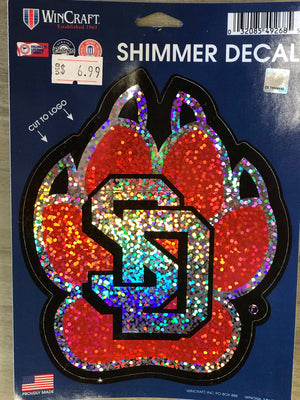 Shimmer Decal SD Paw