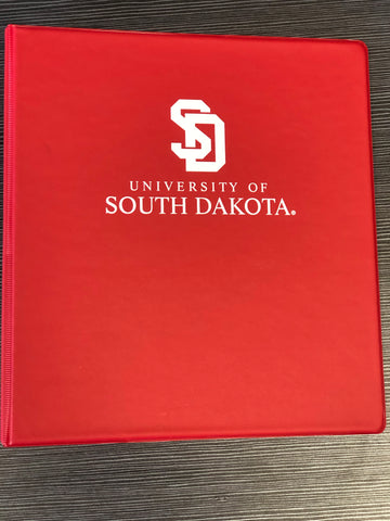 Red USD Binder