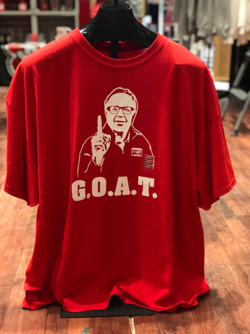 Limited Edition Red President Abbott G.O.A.T. Tee