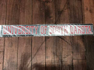 University of South Dakota Decal
