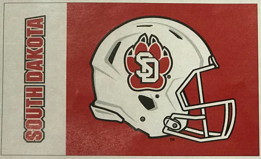Red SD Flag Helmet