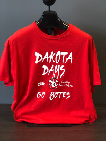 Dakota Days 2016 Red Tee