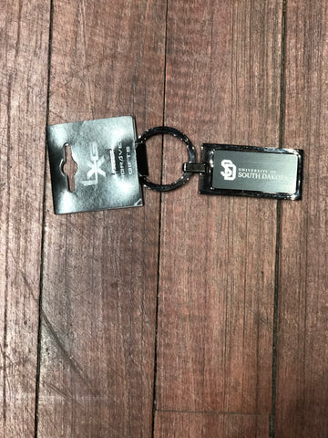 USD Black Metal Key Tag