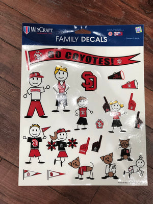 USD Family Decals