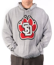Gray Coyotes SD Paw Hooded Sweatshirt